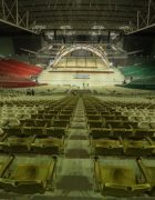 the arena can seat over 50,000 people