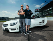 Lewis Hamilton & James Corden