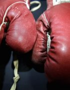 AP ALI LISTON GLOVES AUCTION A USA NY
