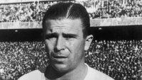Ferenc Puskas, légende du football et atteint d'Alzheimer.
